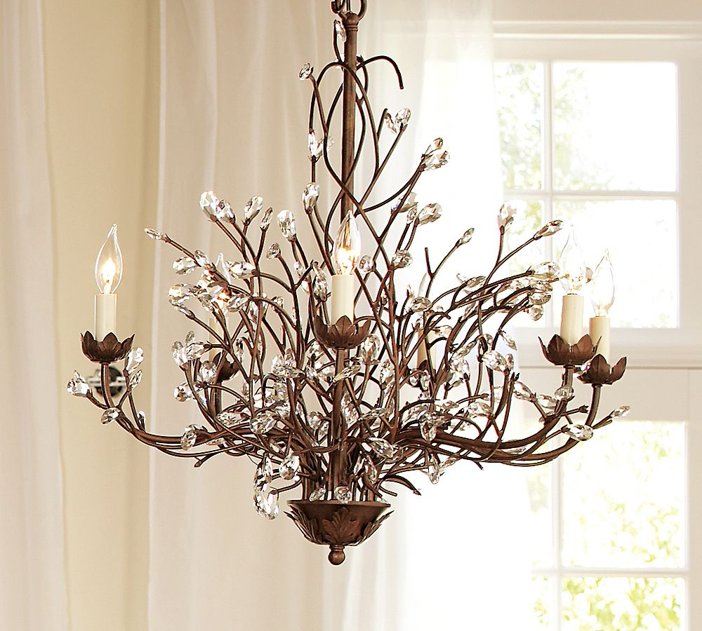 Pottery Barn S Camilla 6 Arm Chandelier