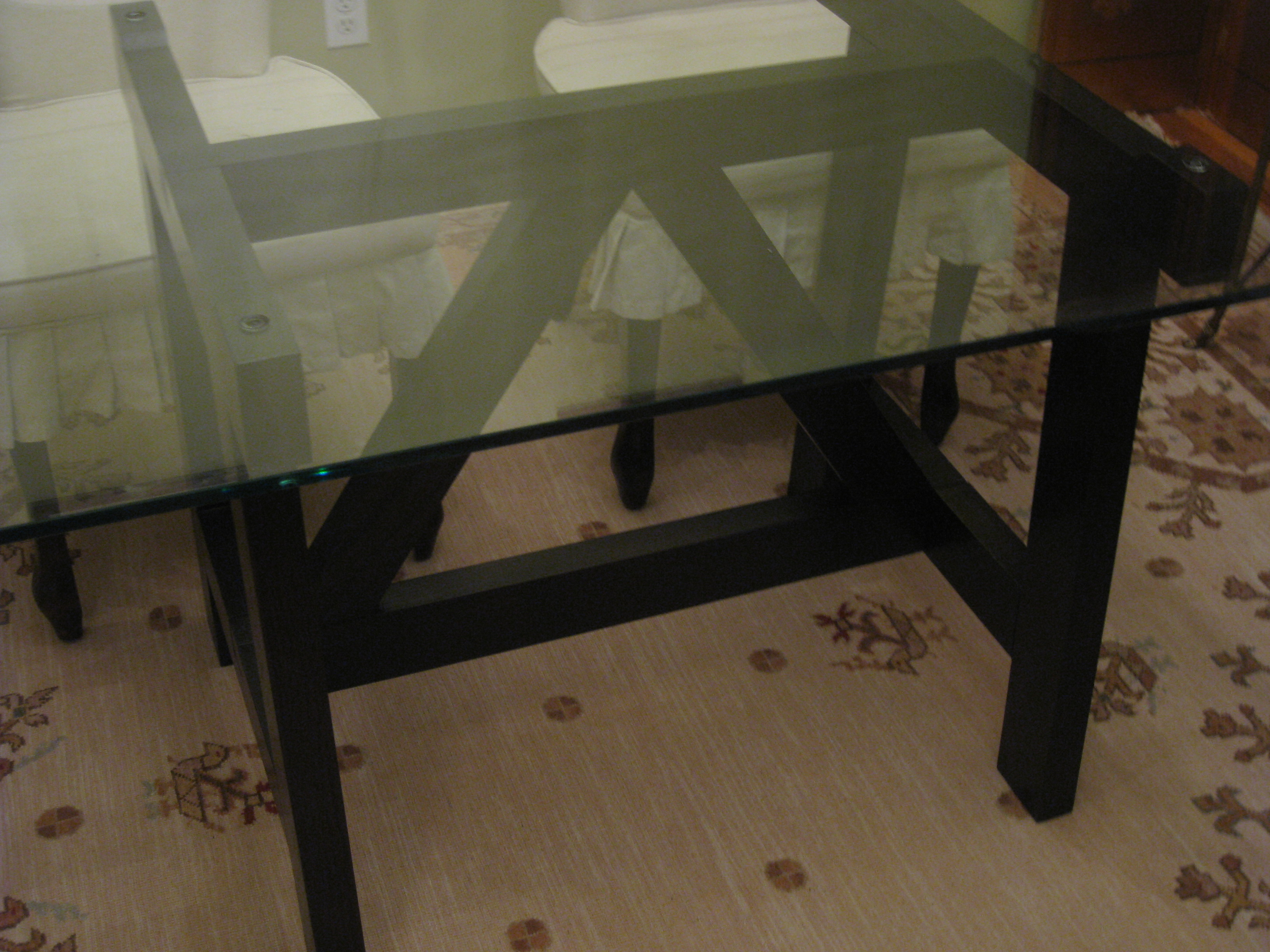 West Elm Trestle Dining Table
