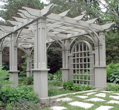 diy gable pergola plans