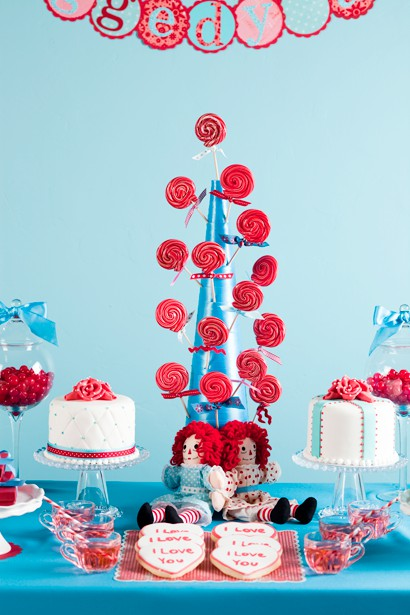 Raggedy Ann and Andy Party Inspriation The Lovely Lifestyle