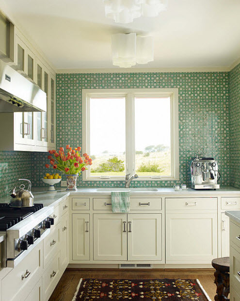 inspiration tiled kitchen walls the lovely lifestyle