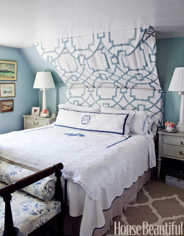 Blue And White Bedrooms The Lovely Lifestyle