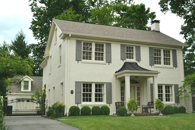 Inspiration house paint the lovely lifestyle - White exterior paint color schemes ...