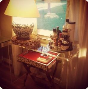 dining room vignette