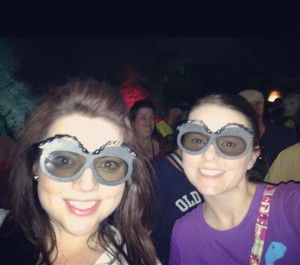marisa and i at bugs life photobomb