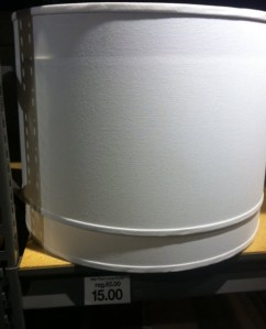 lampshade at outlet