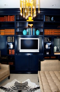 blue built ins via porterdesigncompany