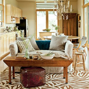 living-room-and-kitchen-southern living