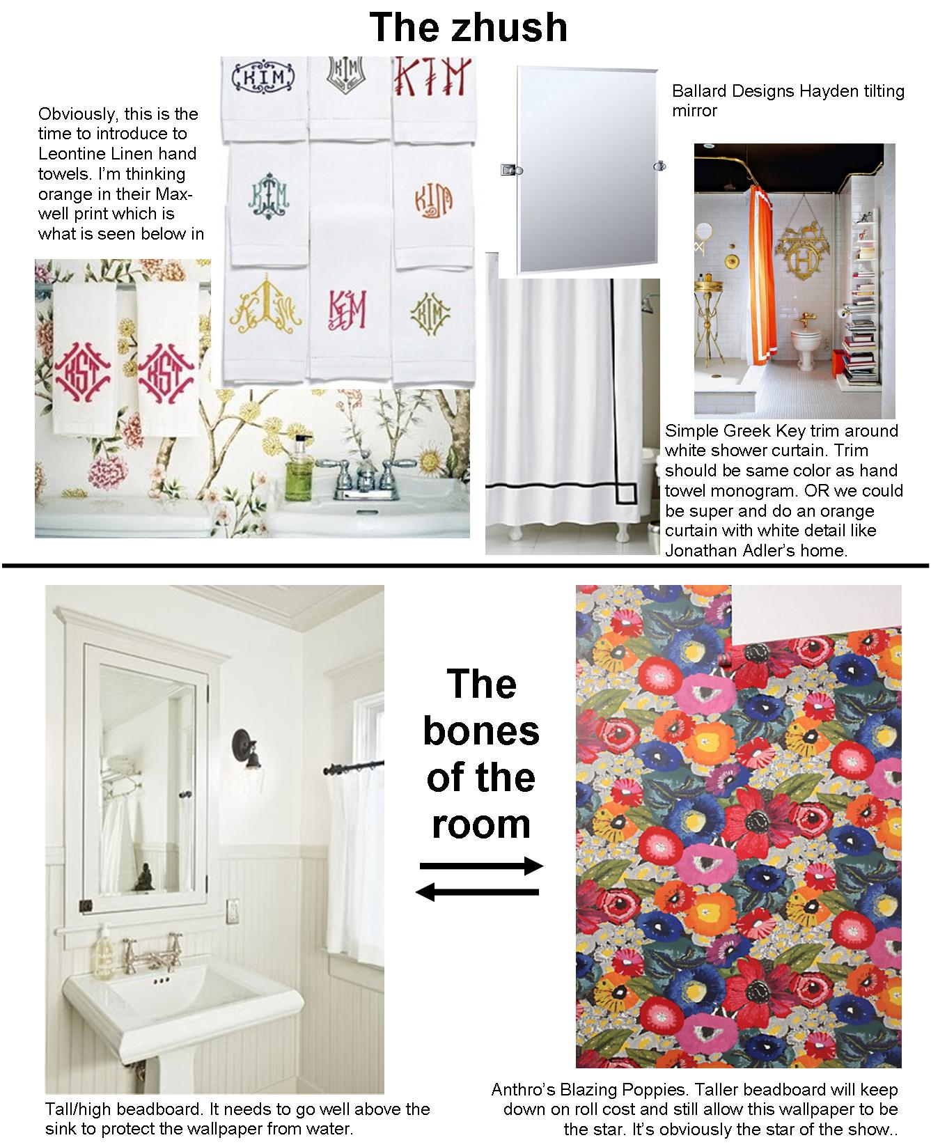 wallpaper the lovely lifestyle blazing poppies moodboard