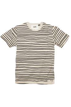 hand stripe tshirt