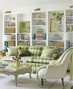 gingham furniture - good