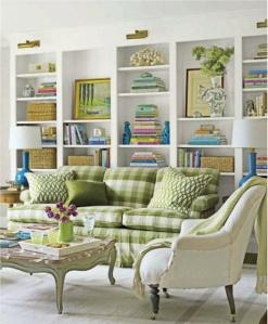 gingham furniture - good