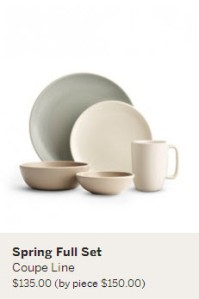 heath ceramics coupe line