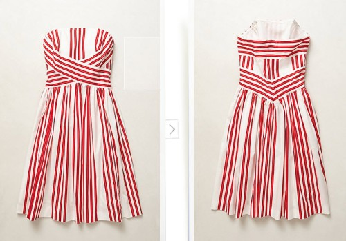 Archival Collection Striped Dress