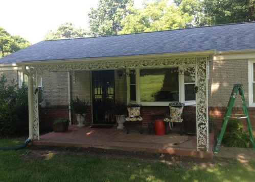 Front porch before with supportsjpg