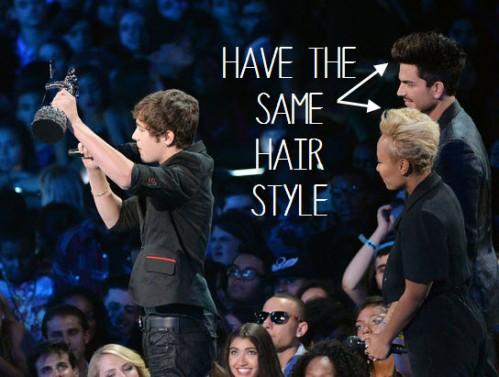 adam lambert hair