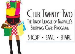 club twenty-two card logo