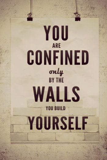 confined only by the walls quote
